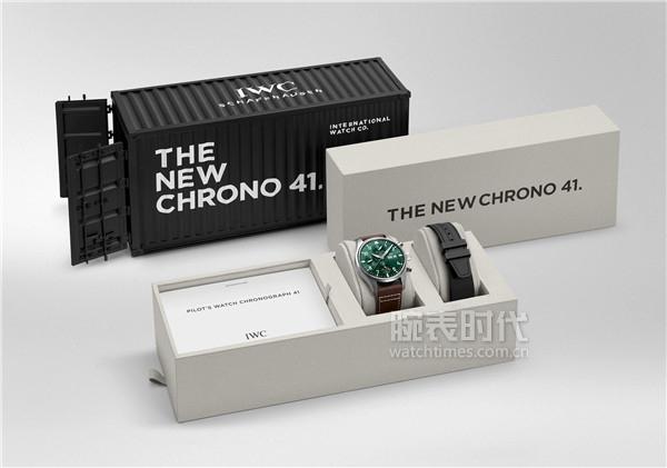 1. IWC萬國表全新飛行員系列腕表推出線上獨家限量禮盒(型號:IW388103)