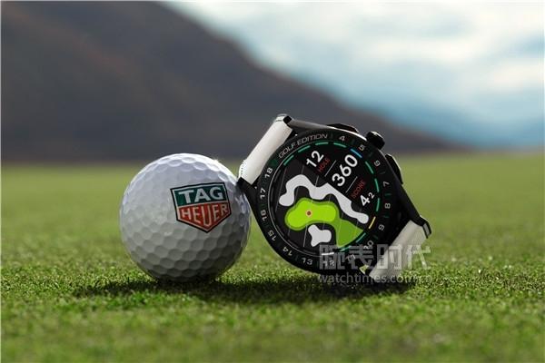 18.TAG Heuer泰格豪雅Connected智能腕表高尔夫版_细节图