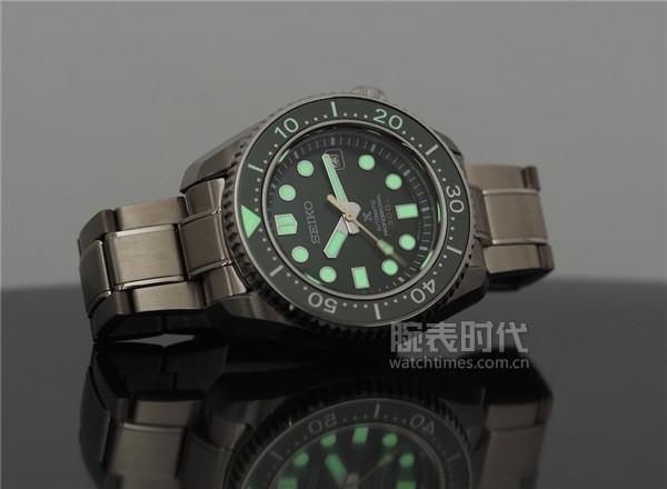 劳力士绿水鬼VS精工SLA019