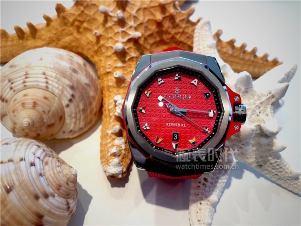 Admiral AC-ONE 45 Auto (red dial)