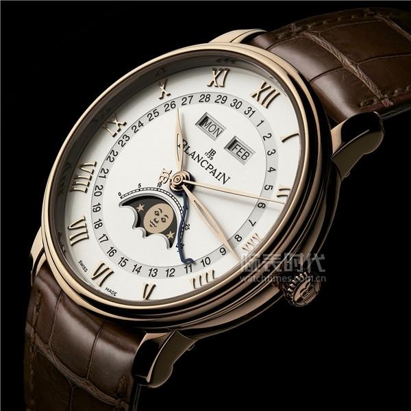03_寶珀Villeret經典系列全歷月相腕表