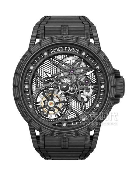 罗杰杜彼Excalibur Spider Carbon3碳纤维腕表
