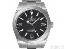 勞力士探險家型系列黑盤手表行情