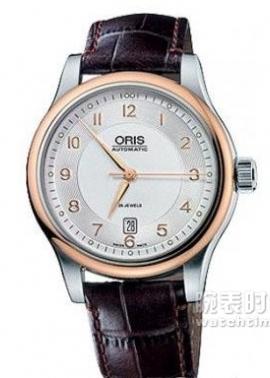 豪利时文化系列Oris Classic款01 733 7594 4361-07 5 20 12