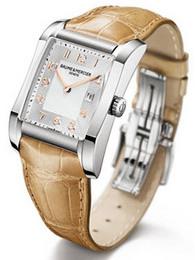 名士漢伯頓系列M0A10018 駝色表帶手表