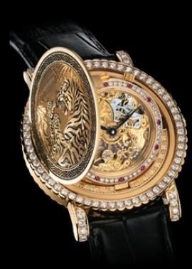 尊皇 收藏家黃金鏤空機芯款