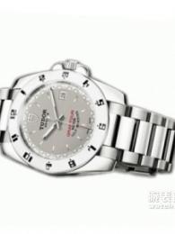 帝舵Grantour系列20050w-95720銀灰手表