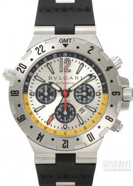 寶格麗 Diagono Professional GMT款