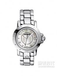 万宝龙运动女士普通款101653手表