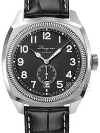 浪琴经典复刻系列1935飞行员腕表