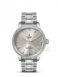 帝舵STYLE系列12500-65050銀盤腕表