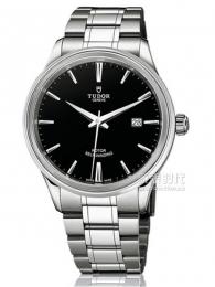 帝舵Style系列12500-65050黑盤腕表