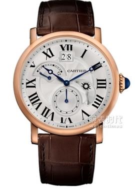 卡地亚 Rotonde de Cartier昼夜显示双时区款