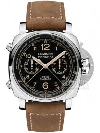 沛纳海 3日动力储存飞返计时自动精钢腕表