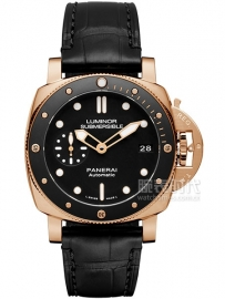 沛纳海 专业潜水3日动力储存自动腕表