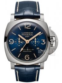沛纳海 八日动力储存时间等式钛金属腕表