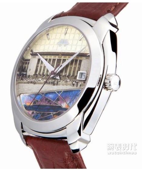 北京内嵌珐琅系列B078201213S手表