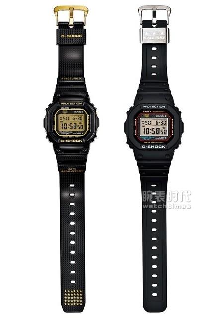 卡西欧G-SHOCK系列DW-5030&DW-5030D-1表
