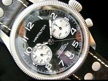 軍用計時碼表 漢米爾頓卡其系列