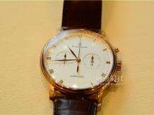 奢华的风格,宝珀Villeret计时款手表评测
