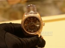 实拍劳力士Sky-Dweller手表