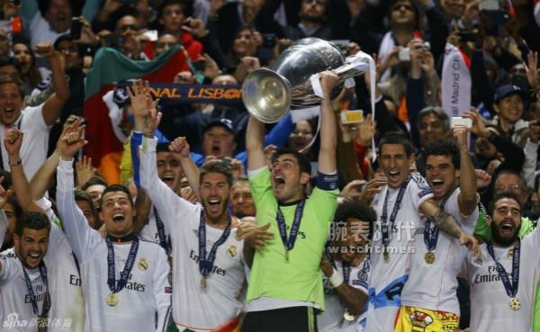 2014年皇馬奪第十歐冠