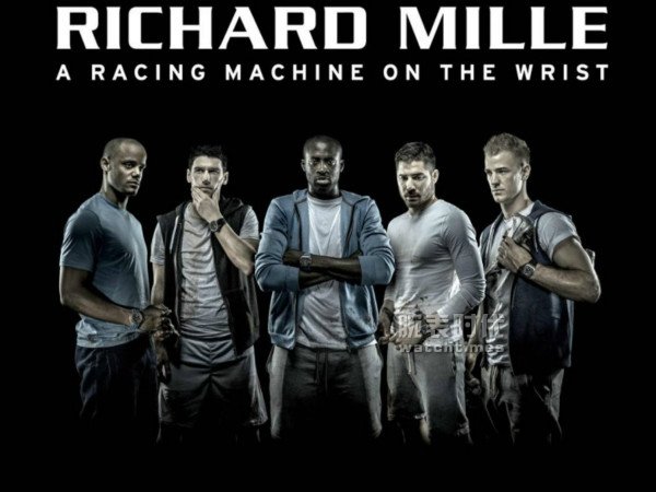 理查米勒的曼城球員廣告