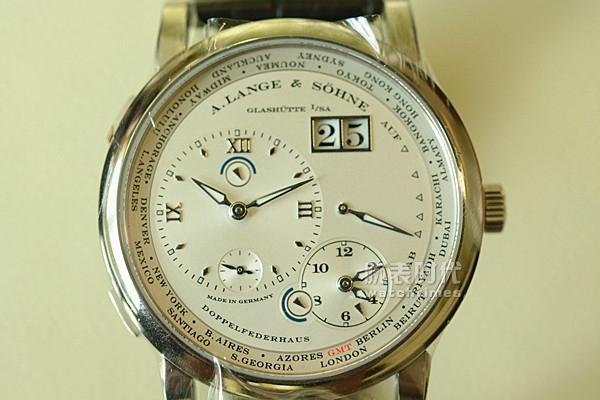 畅享世界,朗格随行,世界时手表图赏_表盘