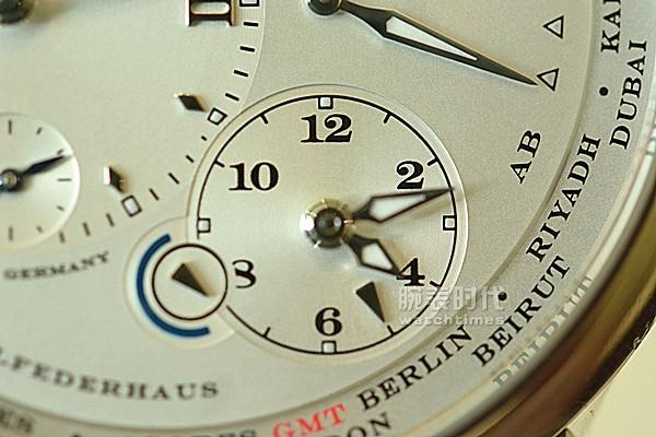 畅享世界,朗格随行,世界时手表图赏_功能
