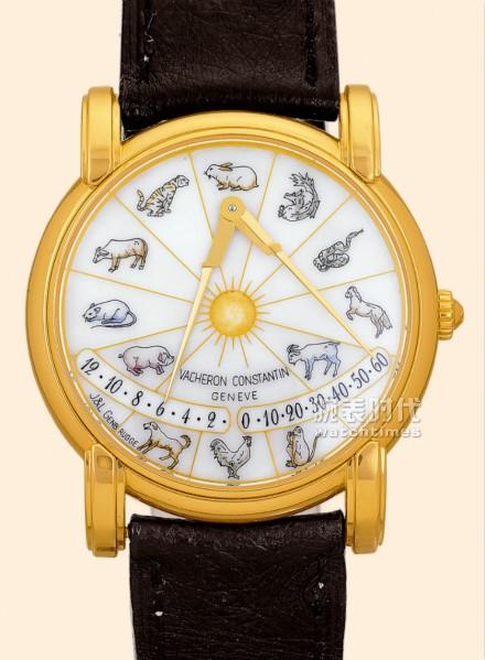 1998年江詩丹頓的墨卡托指針生肖表