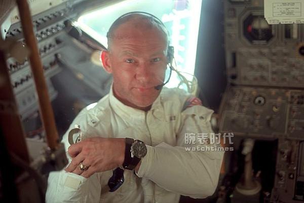 美國宇航員Buzz Aldrin的歐米茄超霸