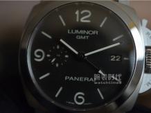 实拍沛纳海双时区PAM320手表