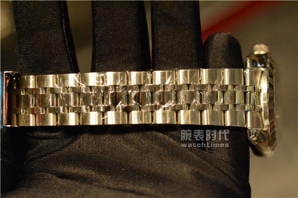 帝舵经典星期日历款男士手表实拍评测_表带