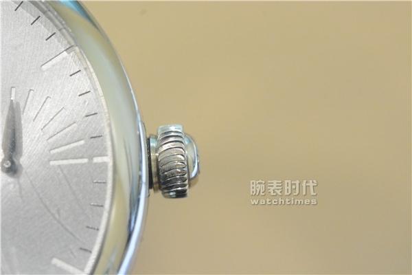 方与圆的结合,实拍艾美匠心自制机芯系列_侧面表冠