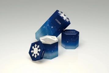 一眼惊艳,西铁城深雪圣诞限量款