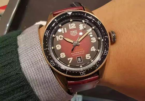 【秀表堂】本命年表友喜提泰格豪雅Autavia系列鼠年特别版青铜腕表