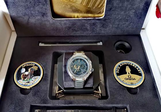 【秀表堂】6个月终于等到你,入手欧米茄阿波罗11号50周年纪念版