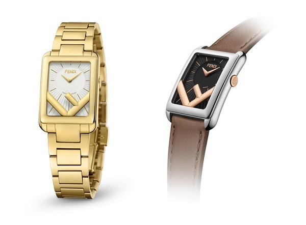 Fendi Timepieces 发布  全新 Run Away Rectangle 腕表
