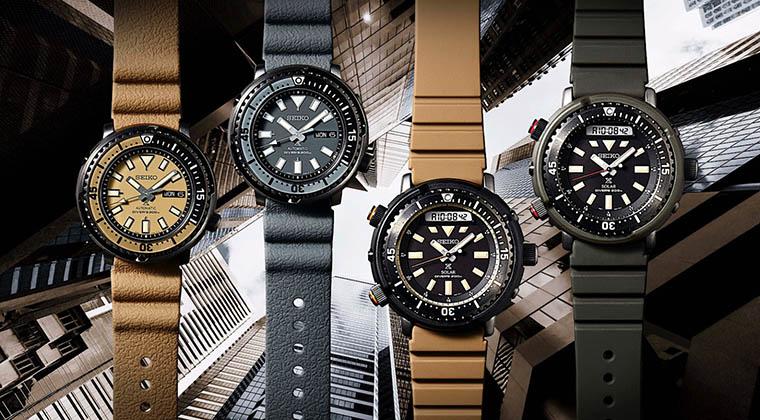 新款精工Prospex Street 系列腕表,这颜值我服!